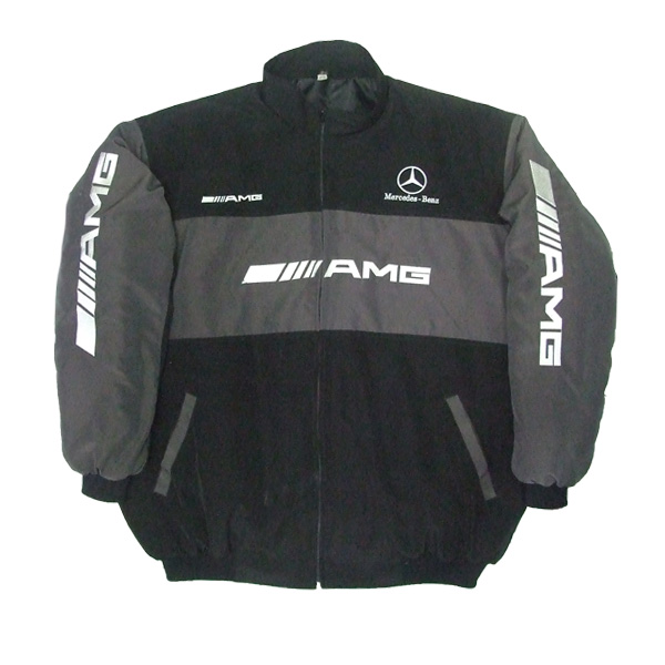 Mercedes benz amg jacket black for Mercedes benz jacket