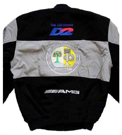 Race car jackets mercedes benz amg racing jacket light gray for Mercedes benz amg jacket