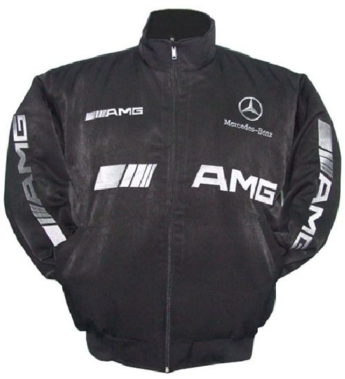 Mercedes racing jackets for Mercedes benz jacket