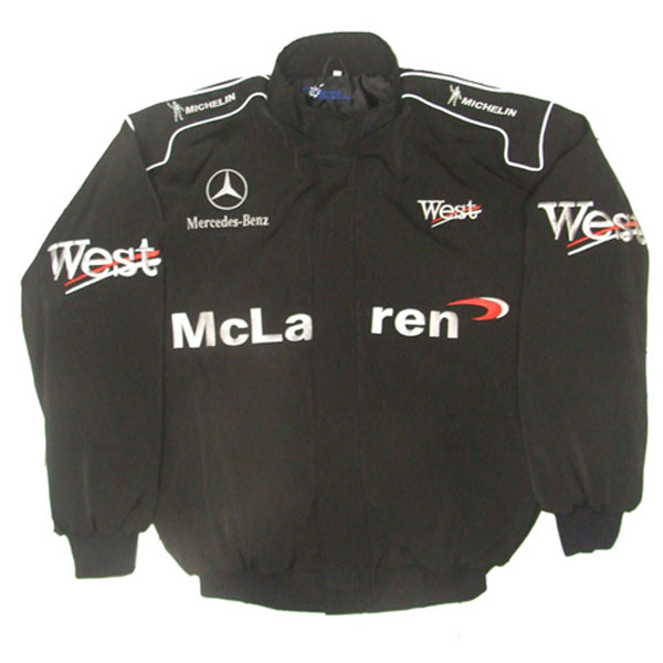 Mercedes benz racing jacket for Mercedes benz jacket