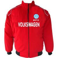 race car jackets vw volkswagen beetle racing jacket red. Black Bedroom Furniture Sets. Home Design Ideas