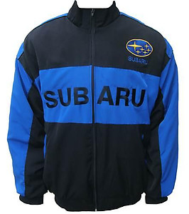 Subaru Racing Jacket Royal Blue & Black