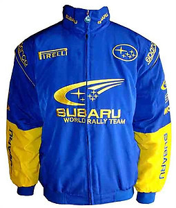 Subaru Racing Jacket Blue & Yellow