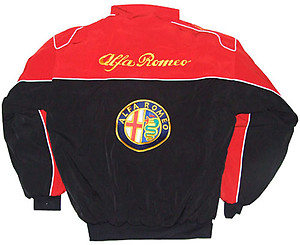 Alfa Romeo Jacket Red & Black