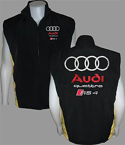 Audi Quattro RS 4 Vest Black and Yellow