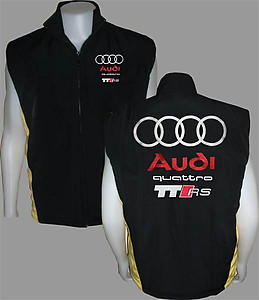 Audi Quattro TT RS Vest Black and Yellow