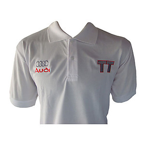 Audi TT Polo Shirt white