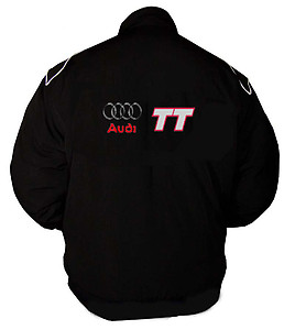 Audi TT New Racing Jacket Black