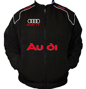 Audi TT Racing Jacket Black