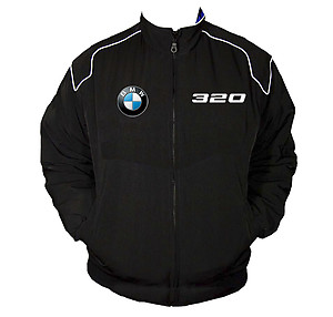 BMW 320 Racing Jacket Black