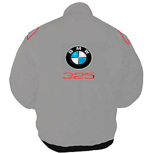 BMW 325 Racing Jacket Light Gray