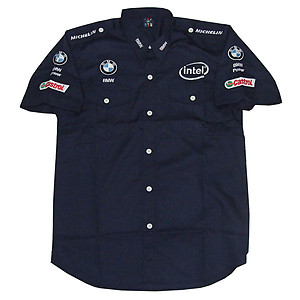BMW Petronas Dark Blue F1 Crew Shirt
