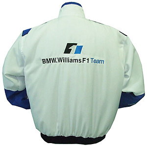 BMW RBS F1 Racing Jacket White and Royal Blue
