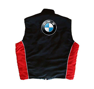 BMW Vest Black and Red
