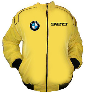 BMW 320 Racing Jacket Yellow