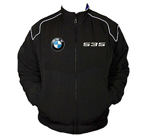 BMW 535 Racing Jacket Black