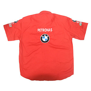 BMW Petronas Crew Shirt Red