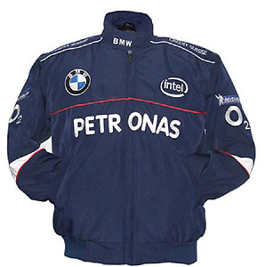 BMW Petronas O2 Racing Jacket Blue