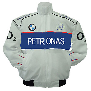 BMW Petronas Racing Jacket White and Royal Blue