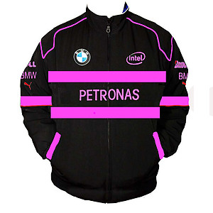 BMW Petronas Racing Jacket Black and Pink
