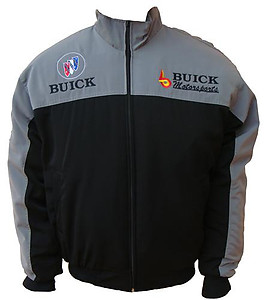 Buick Racing Jacket Black & Grey