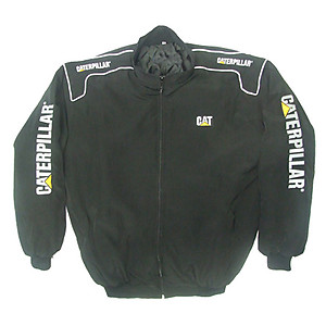 CAT Caterpillar Jacket Black