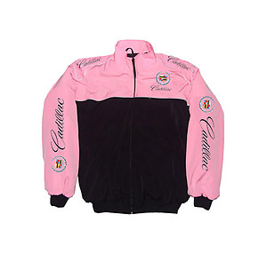 Cadillac Racing Jacket Pink & Black