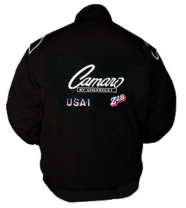 Camaro Chevrolet Racing Jacket Black