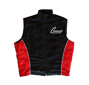 Camaro Vest Black and Red