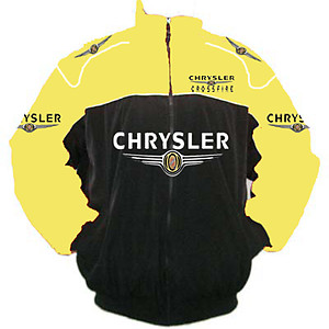 Chrysler Crossfire Racing Jacket Yellow and Black