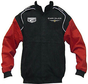 Chrysler Hemi C Racing Jacket Black and Red