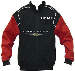 Chrysler Hemi Racing Jacket Black and Red