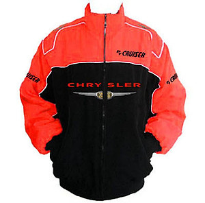 Chrysler PT Cruiser Racing Jacket Black and Red