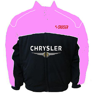 Chrysler PT Cruiser Racing Jacket Pink and Black