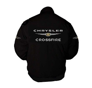 Chrysler Crossfire Racing Jacket Coat Black