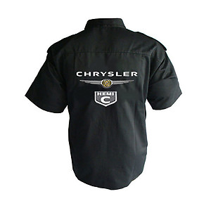 Chrysler Hemi C Crew Shirt Black