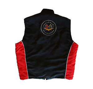 Corvette C1 Vest Black and Red