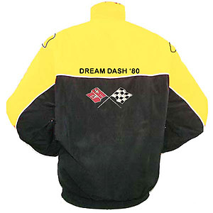 Corvette C3 Racing Jacket Yellow and Black