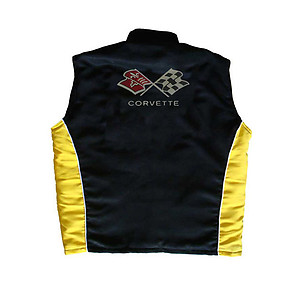 Corvette C3 Vest Black and Yellow