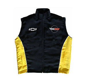 Corvette C4 Vest Black and Yellow