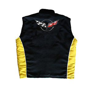 Corvette C5 Vest Black and Yellow