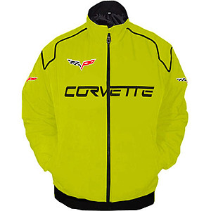 Corvette C6 Racing Jacket Yellow