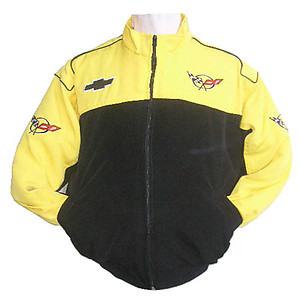 Corvette Indianapolis Racing Jacket Yellow and Black