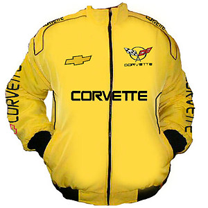 Corvette C5 Racing Jacket Yellow