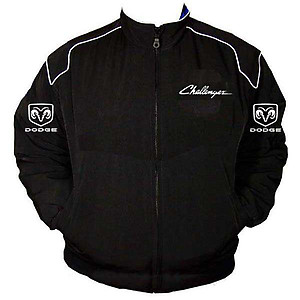Dodge Challenger Racing Jacket Black