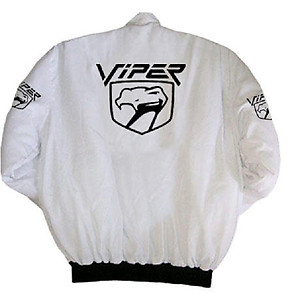 Dodge Viper Racing Jacket White