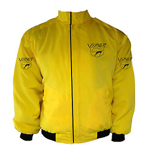 Dodge Viper Racing Jacket Yellow