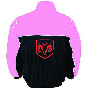 Dodge Racing Jacket Pink and Black