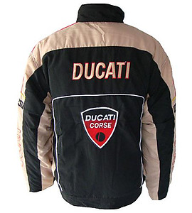 Ducati Corse Jacket Black & Light Gray