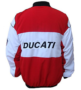 Ducati Corse Jacket Red & White